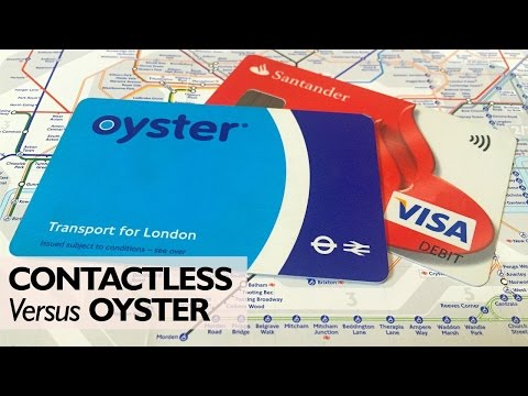 Contactless card system allows London rail passengers to