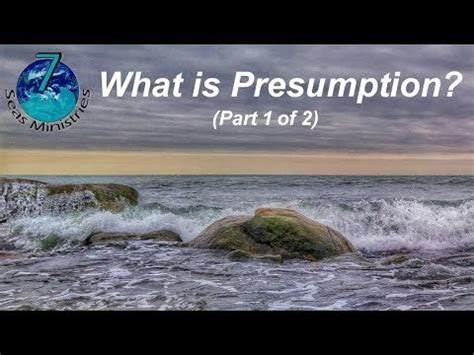 What is Presumption? (Part 1) - YouTube