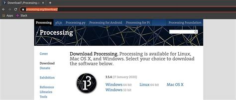 How to install Processing 3