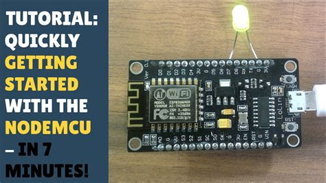 TUTORIAL: Quickly getting started with NodeMCU / ESP8266