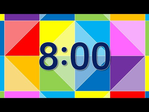 8 Minute Countdown Timer with Alarm - YouTube
