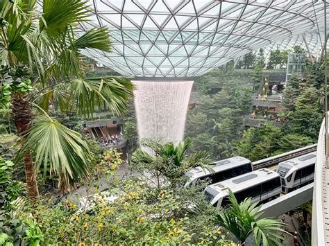 Inside The Jewel, the New Addition at Singapore's Airport