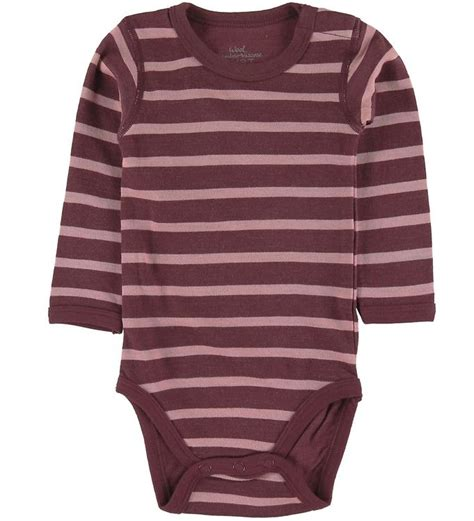 Hust and Claire Bodysuit l/s - Baloo - Wool/Bamboo