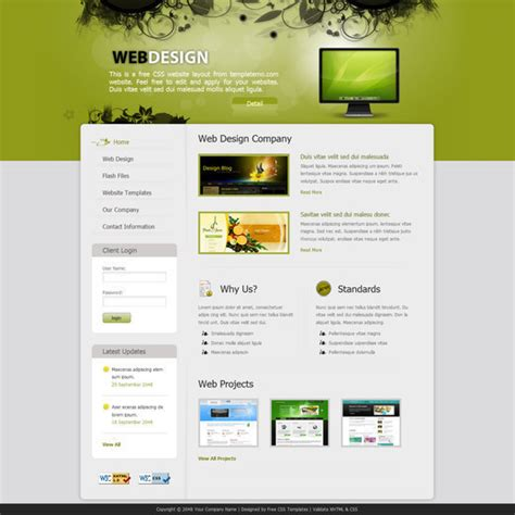 free html css templates for online shopping | Isanna