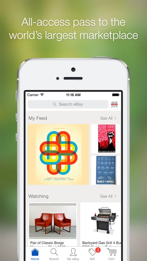 eBay Launches an Apple Watch App, Updates iOS App With