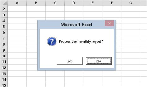 How to Customize Message Boxes in Excel 2016 VBA - dummies