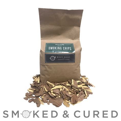 SALE - 2kg Mesquite Chips   Smoked & Cured