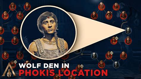 How to Find Wolf Den in Phokis (Cultist Clue Location