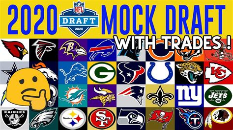 2020 NFL Mock Draft With Trades - YouTube