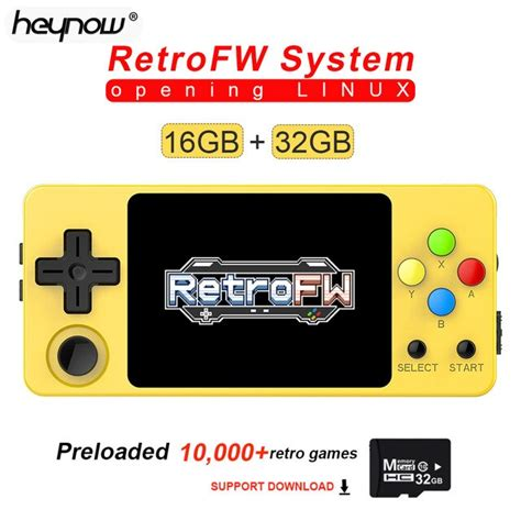 NEW LDK Game Console RetroFW LINUX System DIY 2