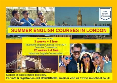 Study English get Discounts | English Course London | Low