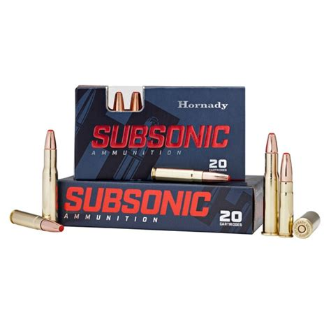 Hornady 300 Blackout 190 gr Sub-X Subsonic - 20 Rounds