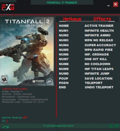 Titanfall 2 Digital Deluxe Edition Trainer v2