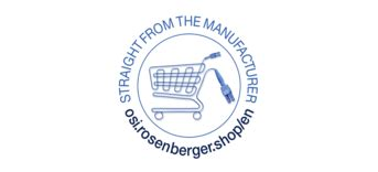New online shop from Rosenberger OSI is now also available
