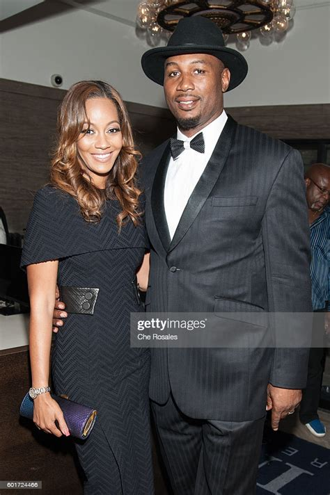 Violet Chang and husband Lennox Lewis at Masonic Temple on