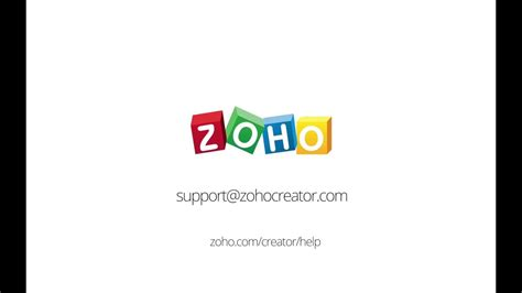 Zoho Creator Tutorials: Build Your First App - YouTube