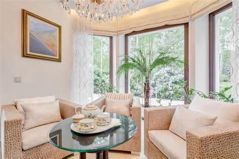 Sitting Room In Exclusive Villa Stock Image - Image of