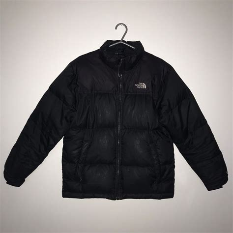 Black The North Face Nuptse 550 Down Jacket in TQ2