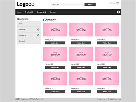 17 Luxury Free Css Templates For Online Shopping