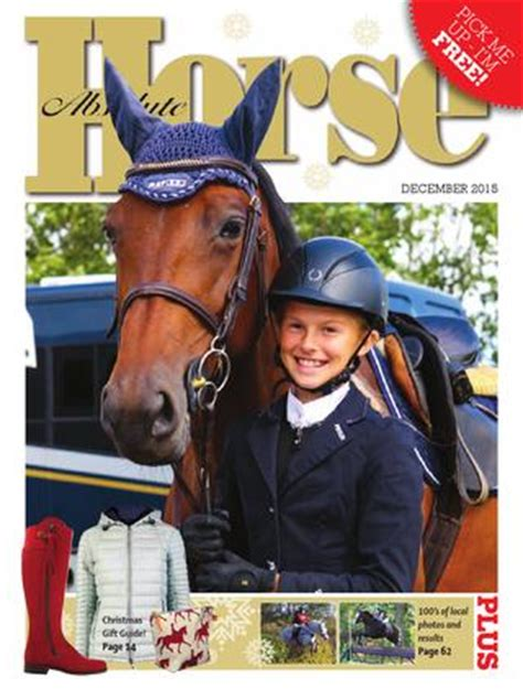 Absolute Horse December 2015 by Absolute Horse Magazine