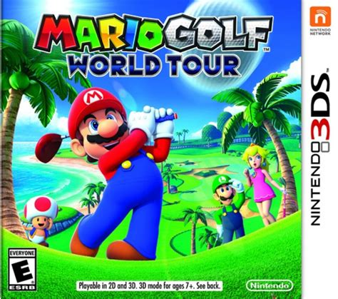 Mario Golf: World Tour - 3DS ROM & CIA - Free Download