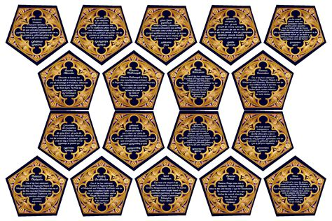 The Best harry potter chocolate frog cards printable