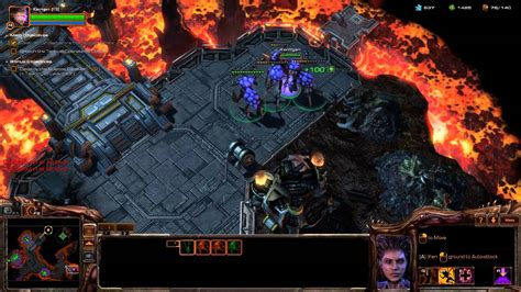 Starcraft 2 Heart of the Swarm Mission 12 - Old Soldiers