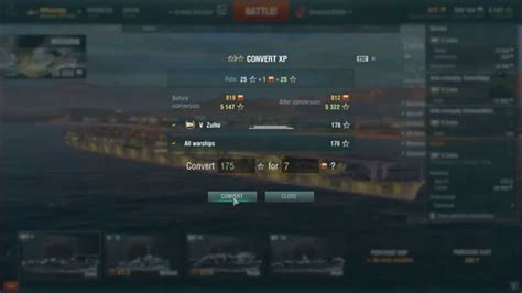 World Of Warships Free Xp Conversion Rate « Top 15