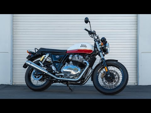 New Royal Enfield Continental GT 650 Breaks Cover: Details