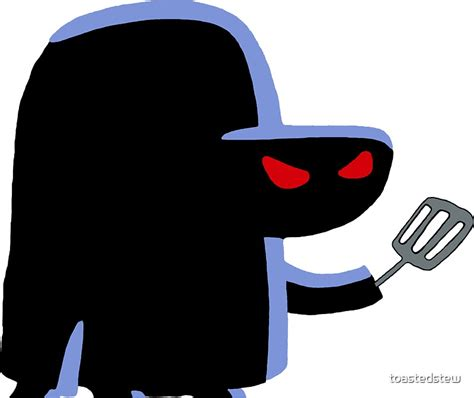 """""""The Hash Slinging Slasher"""" Stickers by toastedstew"""
