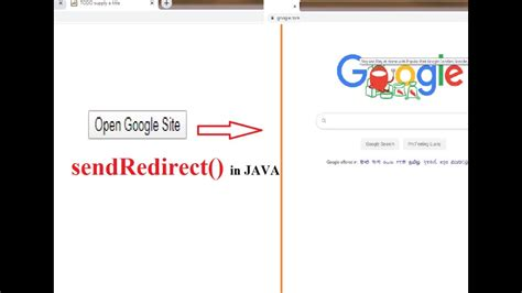 How to open web URL link using servlet in java - YouTube