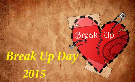 Break Up Day Status Quotes SMS Images Messages |Happy