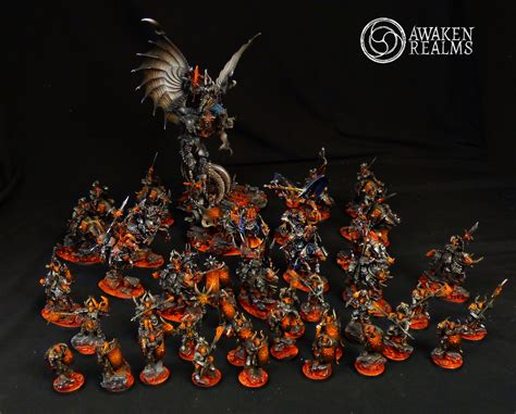 CoolMiniOrNot - Age of Sigmar Archaon Everchosen's Army by