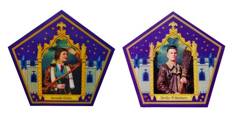 Every Harry Potter chocolate frog cards from Universal