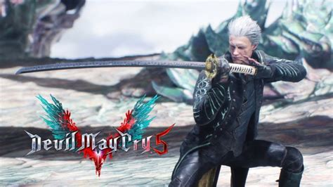 Vergil DLC Character Available Now for Devil May Cry 5