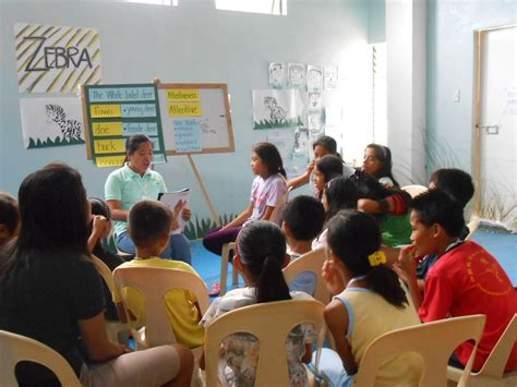 Goducate Training Center holds English camp for students