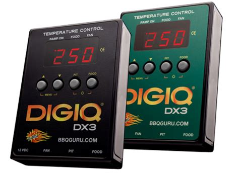 DigiQ DX3 Automatic BBQ Temperature Control for slow and