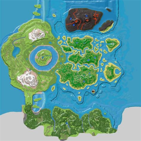 Spawn Map (The Center) - Official ARK: Survival Evolved Wiki