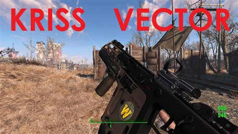 Fallout 4 Mod Review Kriss Vector - YouTube