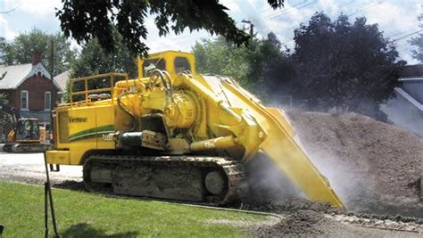 Vermeer Pipeline Trenching Machines For Hire Perth, WA