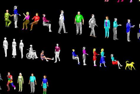 3D People Library 1 | 3D CAD Model Library | GrabCAD