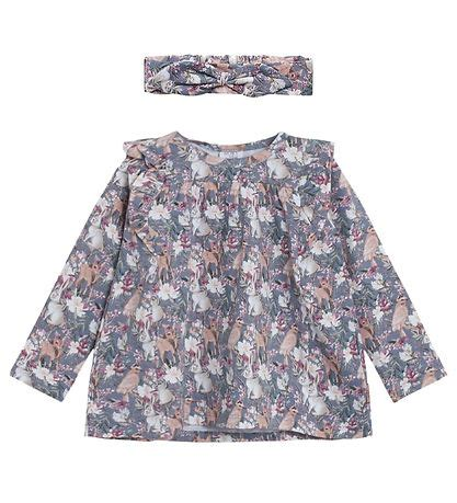 Hust and Claire Blouse - Aleia - Blue w