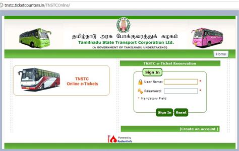 Book Your Bus Ticket Online ( TN ) - SA POST