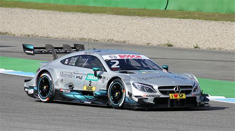 Mercedes gain weight for the first DTM race of 2017