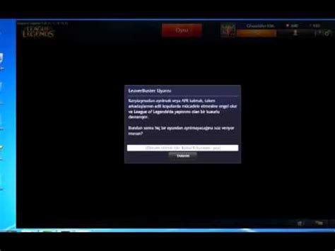 LEAGUE OF LEGENDS LEAVERBUSTER - YouTube