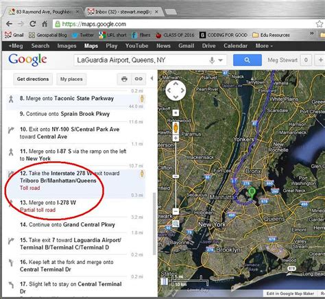 Bing Maps vs Google Maps - Both could use toll cost inform