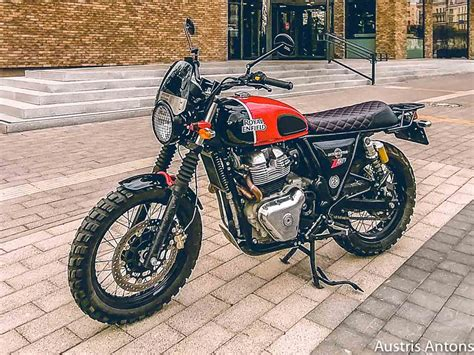 Royal Enfield 650 modified by RE dealer - Limited to 10 units