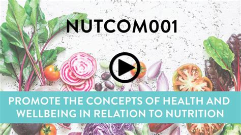 Online Certificate IV in Nutrition Health and Wellness