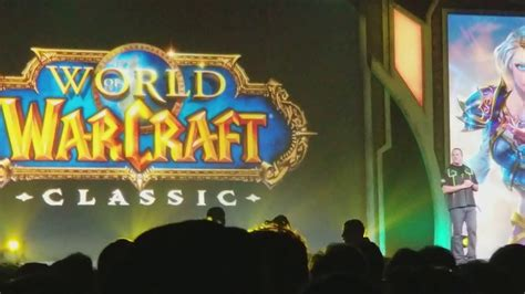 Blizzcon 2017 - World of Warcraft: Classic Announcement