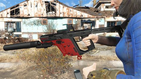 Fallout 4 - Kriss Vector Preview - YouTube
